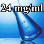 База для электронных сигарет, 24 мг/мл